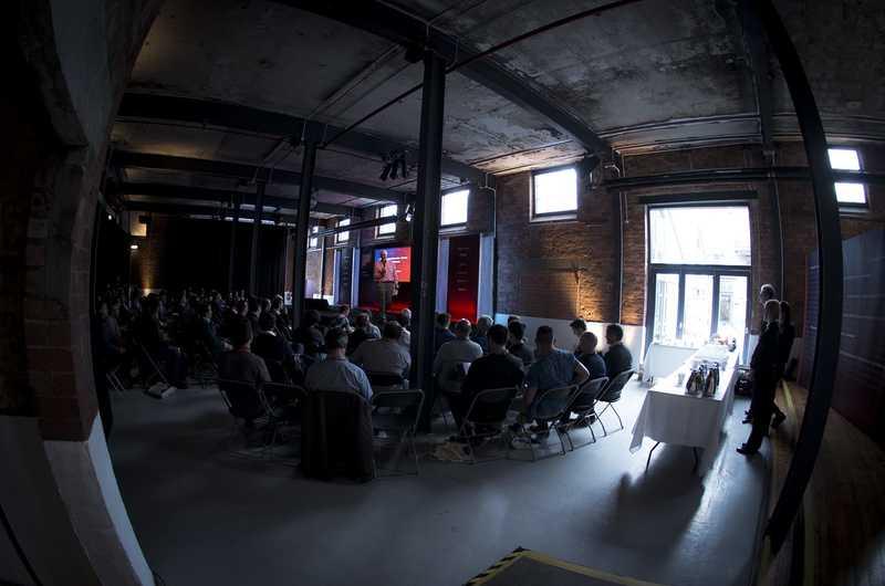 Chris Menlove-Platt hosting at ESW 2016